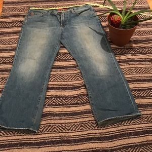 Big star men's 36 regular boot  jeans